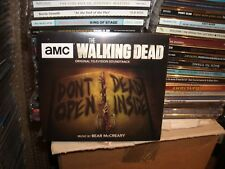THE WALKING DEAD,TV SOUNDTRACK,SIGNED BY BEAR McCREARY