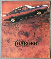1973 Chrysler Valiant Charger original Australian sales brochure