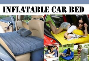 Universal Inflatable Car, Outdoor Camping Air Bed Mattress +2 Pillows+1 Air Pump