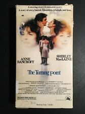 The Turning Point VHS Magnetic Video Tested Anne Bancroft Shirley MacLaine