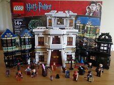 LEGO Harry Potter di Diagon Alley 10217 Set Completo 100% + Mini Figures in buonissima condizione in Scatola