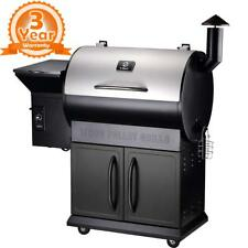 Z GRILLS Wood Pellet BBQ Smoker Grill with Auto Temp Control, 700 Square Inch