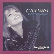 CARLY SIMON: NEVER BEEN GONE: PROMO CD ALBUM (2010) 12 TRACKS: ACOUSTIC ETC