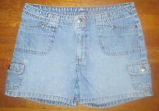 Women's Junior's Denim WISH Shorts Sz 9 Patch Pockets