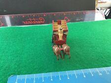 Vintage Lesney Diecast Model. Horse Drawn Carriage Bus.