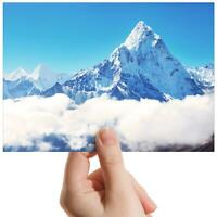 "Mount Everest Himalayas - Small Photograph 6"" x 4"" Art Print Photo Gift #15689"