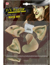 Halloween Horror Special Effect Make Up Witch Nose Ears & Set Fancy Dress 1414W