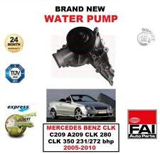 WATER PUMP for MERCEDES BENZ CLK C209 A209 CLK 280 CLK 350 231/272 bhp 2005-2010
