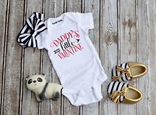 Daddy's Little Valentine Baby Vest/Grow