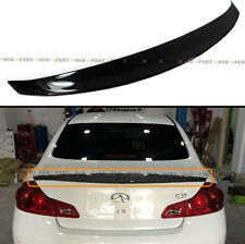 CARBON FIBER DUCKBILL REAR TRUNK SPOILER FOR 2009-2012 INFINITI G25 G37 SEDAN V2