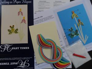 5 mm di Larghezza e 54 cm di Lunghezza DILISEN Set di Quilling Carta 1080 Pezzi Strisce di Filigrana Arte 44 Colori
