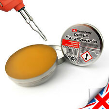 FLUX Soldering Paste in The 20g Tin for Electronics SMD Plumbing DIY Etc