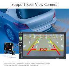 7 inch HD 2DIN Car Stereo Audio MP5 MP3 Player Rear View Bluetooth USB/TF/FM/AUX