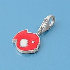 Funny Fish Pendants Sterling Silver 925 Fashion Children's Charms Jewelry Gift