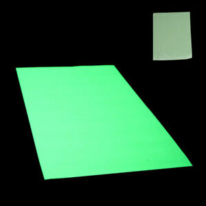 Glow In The Dark Self Adhesive Vinyl A4 Sheet Sign Making Stickers Home Modern