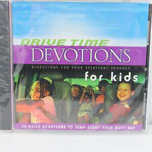 Drive Time Devotions for Kids, Steve Cherrico, Christian, Children (CD, 2004)