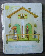Ipf Das Wettermännlein Kinderbuch Bilderbuch Bilder von H.  Blömer ca. 1940