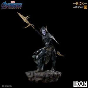 Iron Studios Avengers Endgame BDS Art Scale 1/10 Corvus Glaive Black Order 27 cm