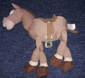 "Disney Store Exclusive Toy Story Bullseye 16""  Soft Plush Figure Disney Stamp."