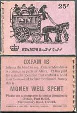 Mixed Page of 25p and 30p Booklets