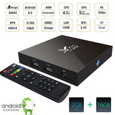 Amlogic S905X X96 2GB 16GB Android 6.0 Marshmallow TV BOX 4K IPTV Decoder