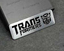Transformers Emblem Badge for Hyundai Ford Skoda high quality Alloy Chrome