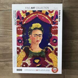 Eurographics Puzzle FRIDA KAHLO SELF PORTRAIT Fine Art Collection 1000 Piece NEW