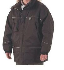 "Condor Cold Storage Parka Small Nylon Black 36 - 38"" Chest"
