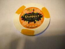 Vintage Stardust $1 Casino Gaming Chip Las Vegas, Casino Closed In 2006