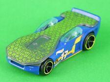 Hot Wheels Solar Reflex blu 2007 Mattel modellino vintage car auto da collezione