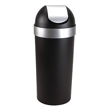Umbra Venti 16-Gallon Swing Top Kitchen Trash Can – Large, 35-inch Tall Garbage