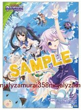 Hyperdimension Neptunia clear poster promo official anime girl bikini Mk2