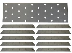 Flat Connecting Joining Plate Galvanised Heavy Duty Metal Steel Sheet Straight