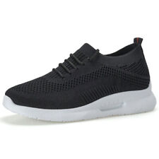 Womens Lace Up Sneakers Running Casual Hollow Out Breathable Trainers Mesh Shoes