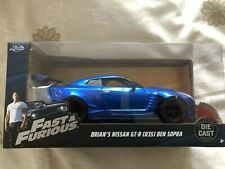 Fast And The Furious Brian's Nissan Model Die-cast car