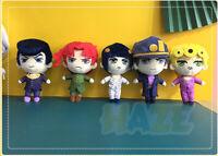 JoJo's Bizarre Adventure Bruno Bucciarati Kujo Jotaro Plush Toy Stuffed Doll