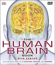 The Human Brain Book by Martyn Page and Rita Carter (2009, Hardcover) DVD Includ