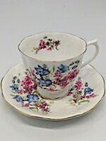 Royal Albert Bone China Cup and Saucer Floral Design