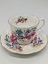 Royal Albert Bone China Cup and Saucer Floral Design