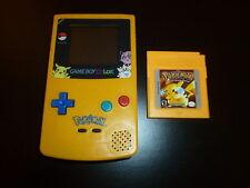 Nintendo Game Boy Color (Pokemon Edition) Console +Pokemon Yellow Version Game A