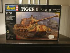 Revell 03129 Tiger II Ausf. B Production Turret 1/72 scale plastic model kit