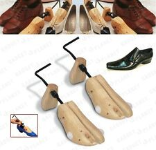 2 x MENS GENTS SHOE STRETCHERS TREE WOODEN SHAPER Bunion Corn Blister SIZE 6-10