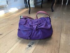 Marc Jacobs Purple Leather Handbag