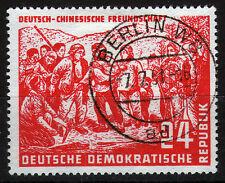 DDR 287, o, 24 PF. tedesco-cinese amicizia