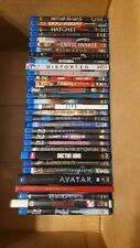 Blue Ray Horror and Sci-Fi Movie Lot of 32+ movies total Good Mix of Movies