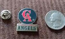 MLB CALIFORNIA ANGELS HAT TIE LAPEL  BASEBALL  PIN