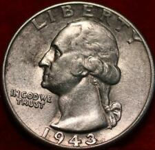 1943 Philadelphia Mint Silver Washington Quarter