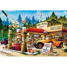 Buffalo Games Pine Road Service Jigsaw Puzzle (1000 Piece) NEW