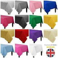 Premium Quality *PACK OF 2* Disposable Paper Table Cloths / Table Covers Party