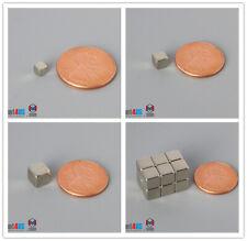 N52 18 316 14 Cube Magnets Multiple Size Rare Earth Neodymium Block